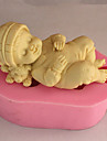 3D Baby Soap Mold  Fondant Mold Cake Decoration Mold