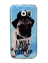The dog Pattern with shimmering TPU Soft Case for Samsung Galaxy S3/S3MINI/S4/S4 MIN/S5/S6/S6 edge