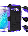 TPU+PC Heavy Duty Armor Stand Case For Samsung Galaxy J1/Young 2/Core Prime/Grand Prime/Ace 4