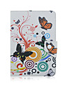 Butterfly Pattern High Quality PU Leather with Stand Case for 7 Inch and 8 Inch Universal Tablet