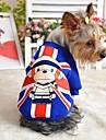 Gatti / Cani Cappottini / T-shirt / Abiti / Abbigliamento Rosso / Blu Inverno Americano / Stati Uniti d\America / Cartoni animati