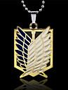 цинковый сплав крыло мужской кулон ожерелье