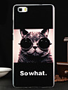Back Cover Other Cat TPU SoftHuawei Huawei P8 Lite