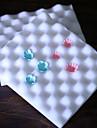 волнообразный украшения торта пены коврик коврик Sugarcraft моделирование инструмент цветок формы набор 2