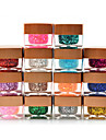 Pure Glitter Colors 8ml Nail Art UV  Gel(14 Selectable Colors)
