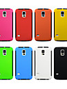 Novelty Special Design PC Silicone Back Cover for Samsung Galaxy S4/S5/S6 (Assorted Colors)
