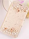 Для Кейс для  Samsung Galaxy Бумажник для карт / Кошелек / Стразы / со стендом / Флип Кейс для Чехол Кейс для 3D в мультяшном стиле