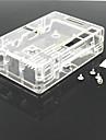 ABS-Gehaeuse / Box fuer Raspberry Pi Model B 2&Raspberry Pi b + -transparent