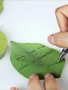 высокая моделирования естественный стиль оставляет заметки на бумаге 50pcs / комплект