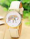 Fashion Women Elephant Watch Leather Strap Watch For Women Dress Watches Quartz Watches
