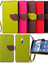 For OnePlus Case Wallet / Card Holder / with Stand / Flip Case Full Body Case Solid Color Hard PU Leather One Plus