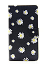 For Huawei Case / P8 Lite Wallet / Card Holder / with Stand Case Full Body Case Flower Hard PU Leather Huawei Huawei P8 Lite / Huawei G8