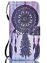 Dreamcatcher PU Leather Wallet Hand Strap Phone Case for Samsung Galaxy S3/S3MI/S4/S4MINI/S5/S5MINI/S6/S6 Edge/S6 edge