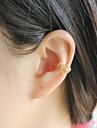 Women\'s Fashion Crystal Pearl Ear Clip