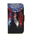 For Nokia Case Wallet / Card Holder / with Stand Case Full Body Case Dream Catcher Hard PU Leather Nokia Nokia Lumia 635