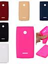 용 노키아 케이스 충격방지 케이스 뒷면 커버 케이스 단색 소프트 TPU Nokia 노키아 루미아 535