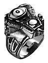 Кольцо Нержавеющая сталь Титановая сталь Мода Серебряный Бижутерия Halloween Повседневные Спорт 1шт