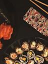 MAYCARI® Sushi Gathering Transparent Soft TPU Back Case for iPhone 6