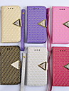 PU New Style Fashion  Masonry Face Mobile phone Case for iPhone 4/4S Assorted Color