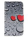 Pour Samsung Galaxy Coque Etuis coque Porte Carte Portefeuille Avec Support Clapet Coque Integrale Coque Coeur Cuir PU pour SamsungS6 edge