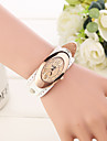Watch Women Genuine Leather Band Casual Simple Quartz Analog Wrist Watch (Assorted Colors) Cool Watches Unique Watches