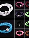 Eruner® Hot sale Mesh Double Stardust Bracelets With Crystal Stones Filled Magnetic Clasp Charm Bracelets Bang