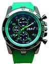 Men  Fashion Quartz Silicone Wrist Watch Cool Watch Unique Watch