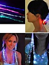 7Color Color-Changing Girl Hair Light LED Hair Accessories Fiber Optic Lights Up Hair Barrette Braid Party Decoration