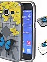 For Samsung Galaxy Case Shockproof / Translucent / Pattern Case Back Cover Case Butterfly TPU Samsung Grand Prime / Grand Neo / Core Prime