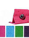 top bande dessinee de vente rotation de 360 degres position intelligente PU etui en cuir pour iPad mini-4
