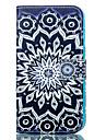 Para Samsung Galaxy Capinhas Porta-Cartao / Carteira / Com Suporte Capinha Corpo Inteiro Capinha Mandala Macia Couro PU Samsung J5 / J1