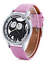 Women\'s Cartoon Cat PU Band  Quartz Strap Watch Cool Watches Unique Watches