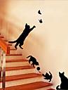 Животные ботанический Романтика Натюрморт Мода Цветы фантазия Наклейки Простые наклейки Декоративные наклейки на стены,Винил материал