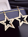 Earring Star Drop Earrings Jewelry Women Wedding / Party / Daily / Casual Alloy 2pcs Gold / Silver