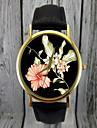 hibicus vigilanza del fiore | orologio floreale, vigilanza delle donne, idea regalo, orologio personalizzato, accessorio di moda
