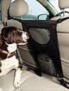 Perro Cobertor de Asiento Para Coche Mascotas Portadores Plegable Negro Terileno