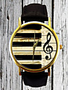 Piano Keys G Clef Watch Leather Watch Women\'s Strap Watch Men's Watch Gift for Her Gift Idea Custom Watch Musician Cool Watches Unique Watches