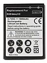Ersatz Handy-Akku fuer Samsung Galaxy S2 i9100 (3,7 V, 1800 mAh)