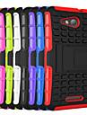 hhmm plastico 2em1 e TPU acessorio caso tampa do suporte para o Sony Xperia e4g (cores sortidas)