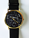 Original Freeforme Einstein Watch , E=MC2 Equation Watch, Vintage Style Leather Watch, Women Word Watch Unisex Cool Watches Unique Watches
