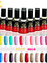 UV Gel Nail Polish (15 ml) Long Lasting Nail Varnish Gel Lacquer 96 Colors For Choose 1-24