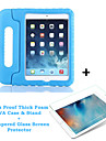 Kids Proof Thick Foam EVA Shock Proof Foam Case & Stand+Tempered Glass Screen Protector for Ipad Mini 4(Assorted Colors)