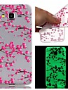For Samsung Galaxy Case Glow in the Dark / Pattern Case Back Cover Case Flower TPU SamsungJ3 / J1 Ace / Grand Prime / Grand Neo / Core
