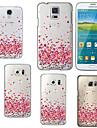 용 삼성 갤럭시 케이스 투명 / 패턴 케이스 뒷면 커버 케이스 심장 TPU Samsung S6 edge plus / S6 edge / S6 / S5 / S4