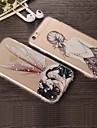 Para iPhone X iPhone 8 iPhone 8 Plus iPhone 6 iPhone 6 Plus Case Tampa Transparente Capa Traseira Capinha Desenho Animado Rígida Acrílico
