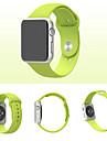 Sport Watch Band for Apple Watch 42mm Silicone Replacement Watch Band