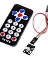 hx1838 инфракрасный код модуля дистанционного управления инфракрасный пульт дистанционного управления для Arduino