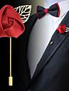 Муж. Женский Броши Ткань Сплав Мода Темно-синий Лиловый Винный Бижутерия Свадьба Для вечеринок Особые случаи День рождения Повседневные