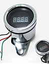 12v Motorcycle Scooter ATV LED Digital Tachometer Universal Tacho Gauge