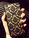 Retro Flower Pattern Openwork Relief Printing Thin PC Material Phone Case for iPhone 6s 6 Plus